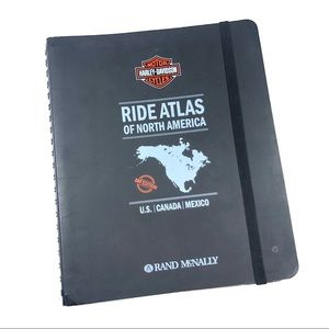 Harley Davidson roadside map